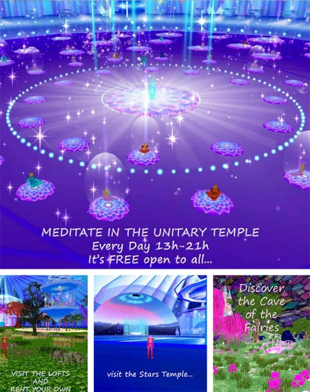 Presentation of the Unitary Temple One in the Celestial City